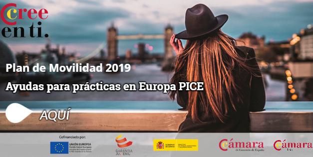 Ayudas para Prácticas en Europa – PICE 2019