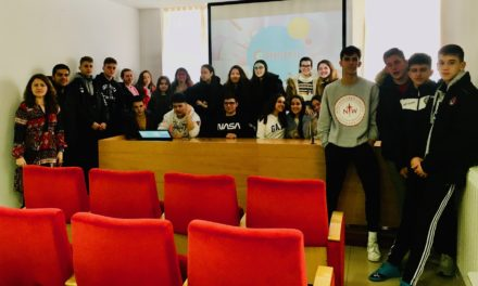 Visita a la Cámara de alumnos del Colegio Virgen Blanca de León