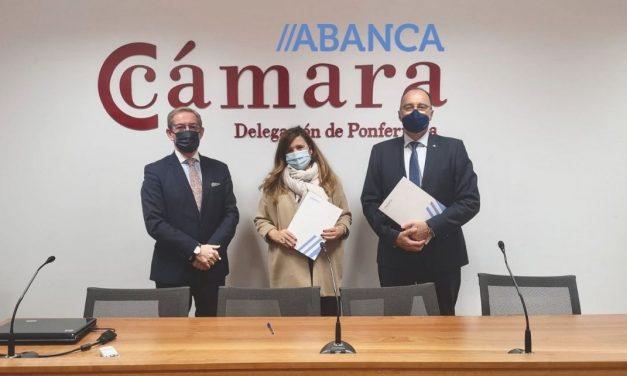 FIRMA CONVENIO COLABORACIÓN CÁMARA DE COMERCIO Y ABANCA