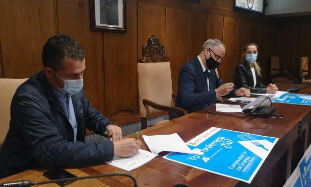 Ayuntamiento de Ponferrada y Cámara de Comercio suscriben un convenio de ayuda Comercio y Hostelería