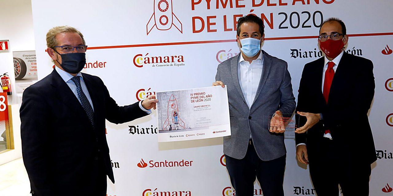 GRUPO SIBUYA PREMIO PYME DEL AÑO 2020 DE LEÓN