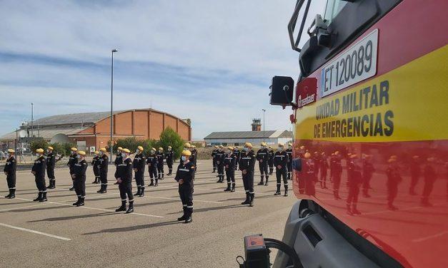 La Cámara de Comercio de León concede a la Unidad Militar de Emergencias la Medalla de Oro de la institución