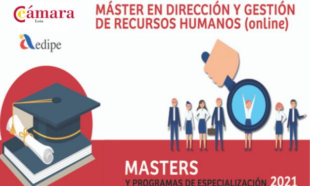 MÁSTER ONLINE EN DIRECCIÓN Y GESTIÓN DE RECURSOS HUMANOS