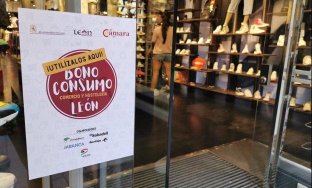 AGOTADA LA EMISIÓN DE BONOS CONSUMO LEÓN